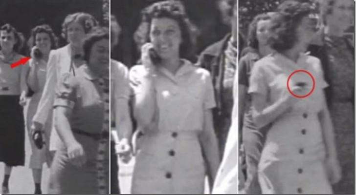 Un celular en 1938